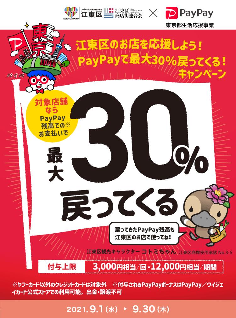 ・江東区PayPayキャンペーン