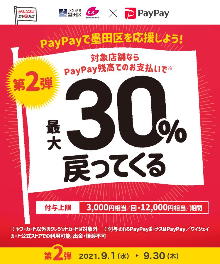・墨田区PayPayキャンペーン